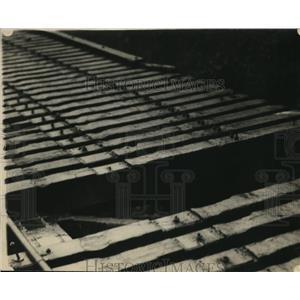 1924 Press Photo Rebel attempts at metlac bridge construction, Mexico