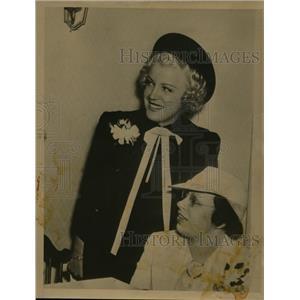 1937 Press Photo Actress Collette Lyons - nee60139