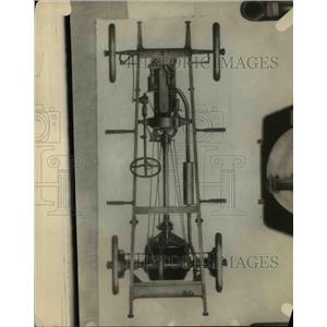1921 Press Photo Auto friction drive
