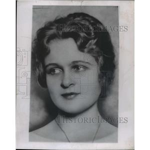 1945 Press Photo Selena Royle Actress - nee69767