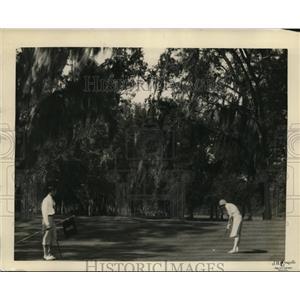 1929 Press Photo Edgewater Gulf golf course near Biloxi Miss for Pan Am golf