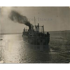 1927 Press Photo SS President off San Diego Coast. - nee76468