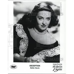 1946 Press Photo Bette Davis stars as Christine Radcliffe in Deception