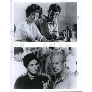 Undated Press Photo Ingrid Bergman Judy Davis Leonard Nimoy and Jack Thompson