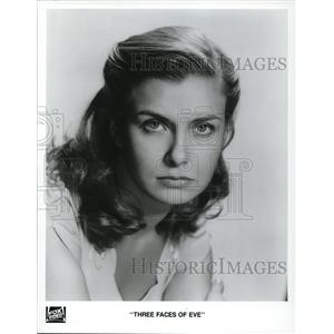 1993 Press Photo Joanne Woodward stars as Eve White in Three Faces of Eve