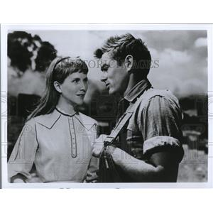 1989 Press Photo Julie Harris and James Dean in East of Eden - cvp37275