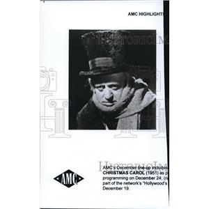 1998 Press Photo Alistair Sim stars as Ebeneezer Scrooge in A Christmas Carol