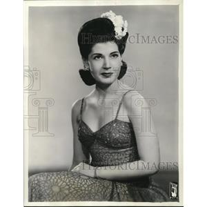 1943 Press Photo Rose Marie Lombardo on Three Ring Time - cvp32004