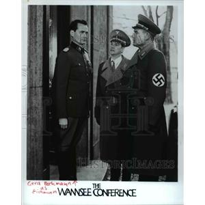 Undated Press Photo The Wannsee Conference Gerd Bockman As Eichmann - cvp35129