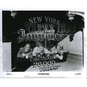 1992 Press Photo Scene from Citizen Kane - cvp38473