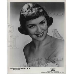 1953 Press Photo Actor Dorothy Loudon - cvp30737
