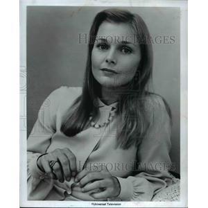 1978 Press Photo Carol Lynley stars in The Elevator movie film - cvp35848