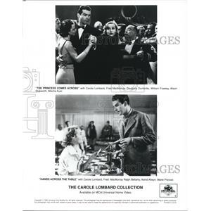 1995 Press Photo Carole Lombard Fred MacMurray The Carole Lombard Collection