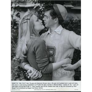 1973 Press Photo Deborah Winters and Gary Grimes in Class of 44 - cvp37834