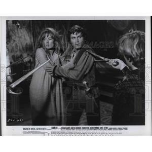 1968 Press Photo Movie Camelot Vanessa Redgrave Franco Nero - cvp31075