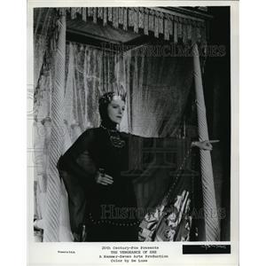 1935 Press Photo Helen Gahagan in The Vengeance of She - cvp34290