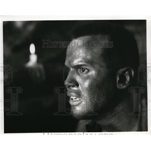 1969 Press Photo Harry Belafonte in The World, The Flesh & The Devil - cvp33366