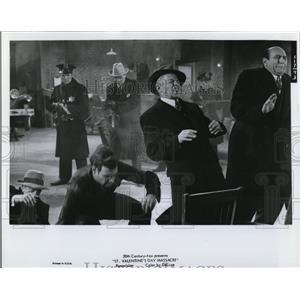 1979 Press Photo Milton Frume & Kurt Krueger in St Valentine's Day Massacre