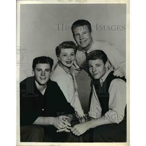 1960 Press Photo The Nelson Family - cvp35200
