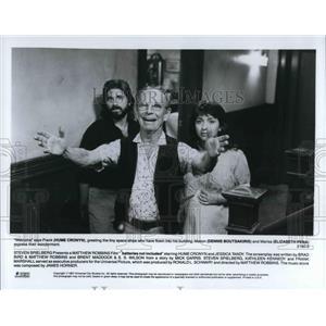 1967 Press Photo Hume Cronyn Dennis Boutsakiris Elizabeth Pena In Batteries Not