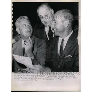 1963 Press Photo Alex Hannum ex coach of Syracuse now with SF Warriors