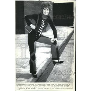 1971 Wire Photo Actress Jill St. John - cvw06434