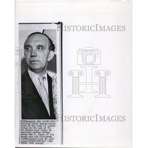 1960 Wire Photo British Actor Ralph Died in London at the Age of 72 - cvw06713