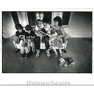 1983 Press Photo Vietnam Veterans series by Sullivan and Parker - cva99402