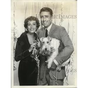 1958 Press Photo Peter Lawford and Phyllis Kirk star in The Thin Man - cvp79835