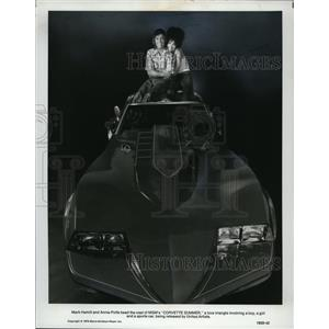 1978 Press Photo Mark Hamill & Annie Potts in Corvette Summer - cvp79863