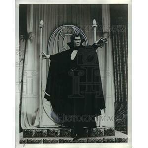 1978 Press Photo Frank Langella in Broadway's Dracula - cvb00614