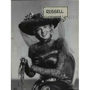 1952 Press Photo Jane Russell, actress - cvb00852