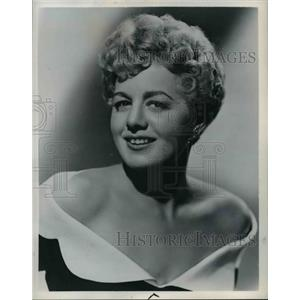 1954 Press Photo Actress Shelley Winters - cvb00743
