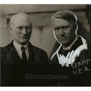 1920 Press Photo Indiana Governor James P. Goodrich, John R. Howard - nee65497