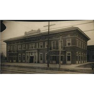 1916 Press Photo Cleveland Railway Station of Red Bricks and Tierra Cotta.