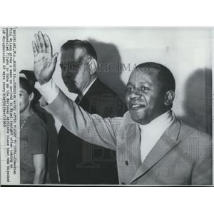 1968 Wire Photo Comedian Flip Wilson on the hijacked National Airlines plane