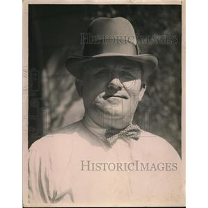 1923 Press Photo Theodore Lacy Jr jailor at Santa Ana California - nee82294