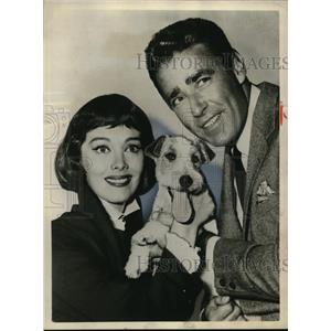 Press Photo Peter Lawford and Phyllis Kirk star in The Thin Man - cvp79837