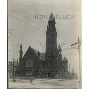 1912 Press Photo Second Presbyterian Church at prospect Ace and East Fortieth St