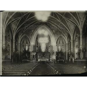 1913 Press Photo The Holy Name Church - cva89831