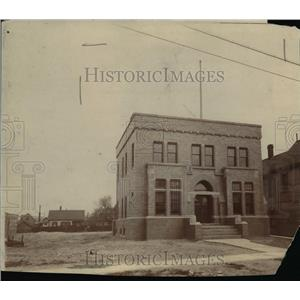1902 Press Photo Police Station for Superior and Robinson during the circa 1902