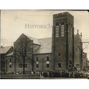 1913 Press Photo The St. Peter's Lutheran Church - cva87485
