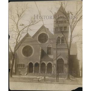 1913 Press Photo Old Eells Memorial Presbyterian Church, 55th St & Lexington Ave