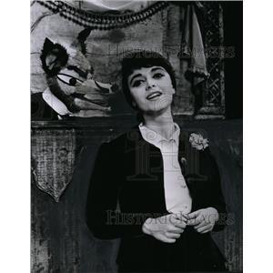 1961 Press Photo Anna Maria Alberghetti in Carnival! chosen by Drama Critics NY