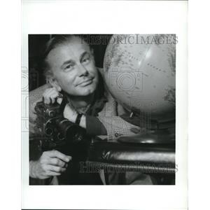 Press Photo Jack Paar American author, radio and television comedian & host