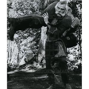 1970 Press Photo Lee Marvin in Paint Your Wagon - orx03275