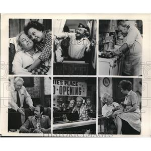 Press Photo Carroll O'Connor & Jean Stapleton in All in the Family - orx04320