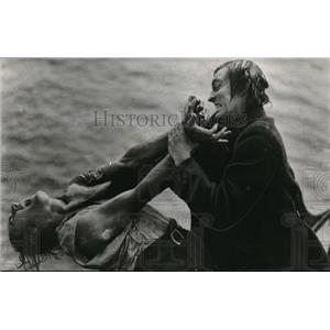 1946 Press Photo The Sea Beast John Barrymore Movie Still - orx02545