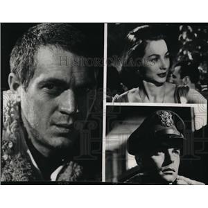 1966 Press Photo Actor Steve McQueen in War Lover - orx02868