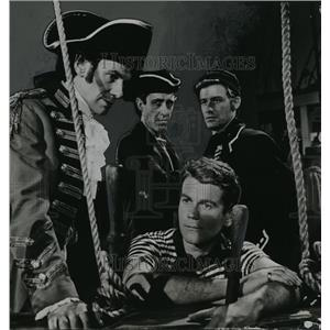 1959 Press Photo Don Murray plays Billy Budd, Herman Melvill's action drama